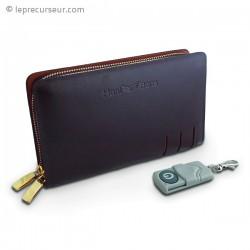 Caméra espion cachée dans un portefeuille