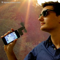 Ventilo miniature pour iPhone 4