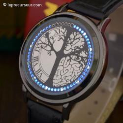 Montre tactile avec affichage original LED