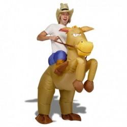 Déguisement cowboy gonflable