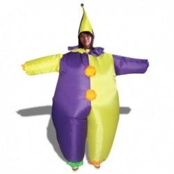 Déguisement insolite clown gonflable