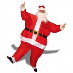 Costume gonflable Papa-Noël