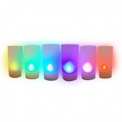 Chandelle photophore LED