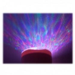 Lumière d'ambiance avec son aurore boréal