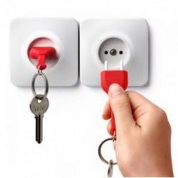 Porte-clés rangement prise factice