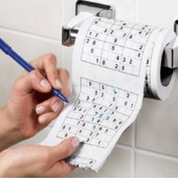 Papier toilettes Sudoku