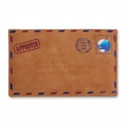 Pochette enveloppe cuir pour smartphone