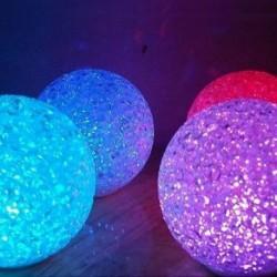 Lampe d'ambiance globe à LED