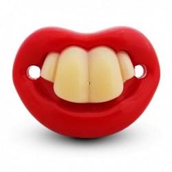Sucette tétine avec ses 4 dents
