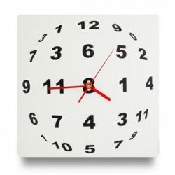 Horloge murale illusion d'optique