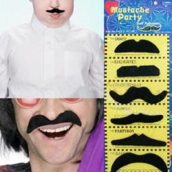 Moustaches adhésives vendues par 6