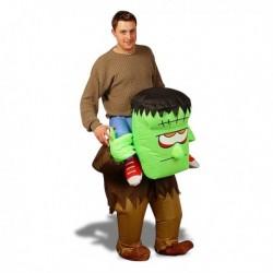 Costume gonflable sur les épaules de Frankenstein