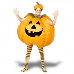 Costume gonflable citrouille