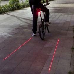 Éclairage LED pour vélo avec traçage lumineux
