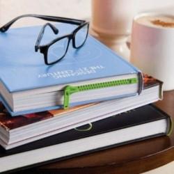 Fermeture éclair marque page pour livre