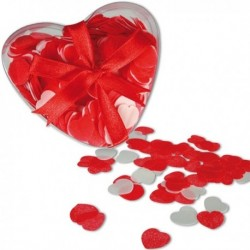 Petits cœurs de savon et sa boite romantique