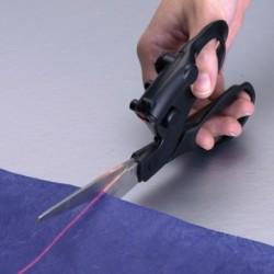 Ciseaux avec laser