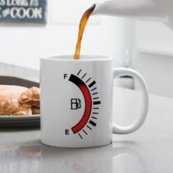 Mug thermo-changeant jauge carburant