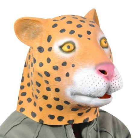 Masque intégral léopard