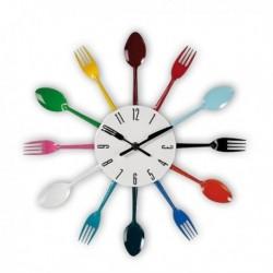 Horloge murale fourchettes spécial cuisine