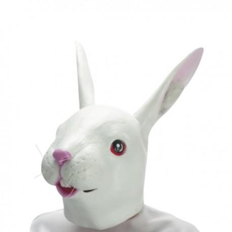 Masque tête de lapin intégral