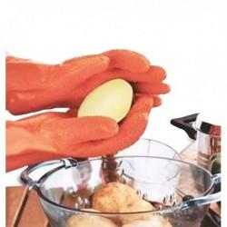 Paire de gants éplucheur de légumes