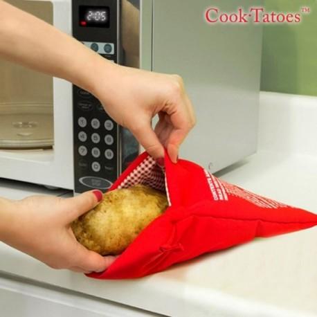 Poche cuiseur de pommes de terre au micro-onde