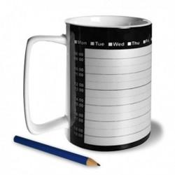 Tasse planning avec crayon