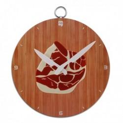 Horloge cuisine côte de porc