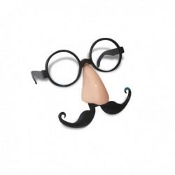 Lunettes nez et moustache