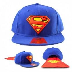 Casquette Superman avec cape non détachable