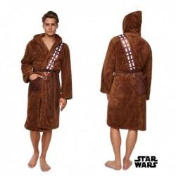Peignoir marron Chewbacca saga Star Wars