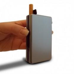 Etui à cigarettes automatique aluminium