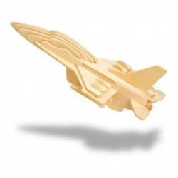Puzzle 3D avion en bois