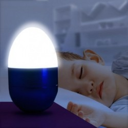 Mini lampe LED veilleuse en forme d'oeuf