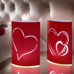 Lampions décoratifs au design romantique