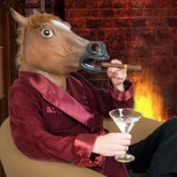 Masque cheval géant