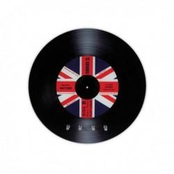 Accroche-clés disque vinyle drapeau Royaume-Uni