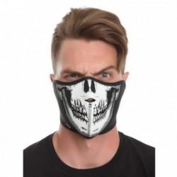 Masque face de squelette en néoprène