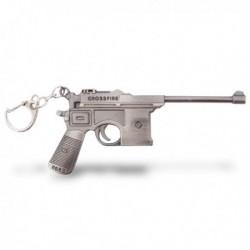 Porte-clés pistolet en métal