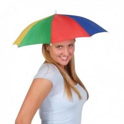 Parapluie de tête multicolore