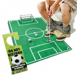 Kit de jeu de foot pour toilettes