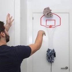 Panier à linge basket-ball