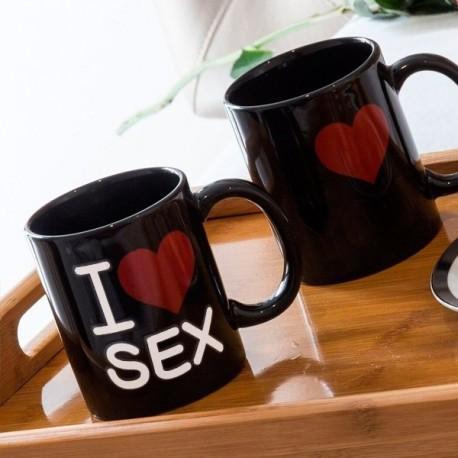 Tasse thermo-changeante I Love Sex