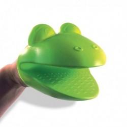 Gant manique apparence tête de grenouille