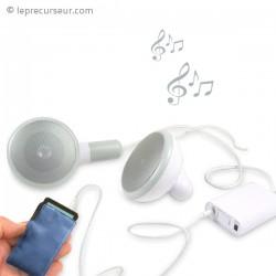 Haut-parleur écouteurs géants