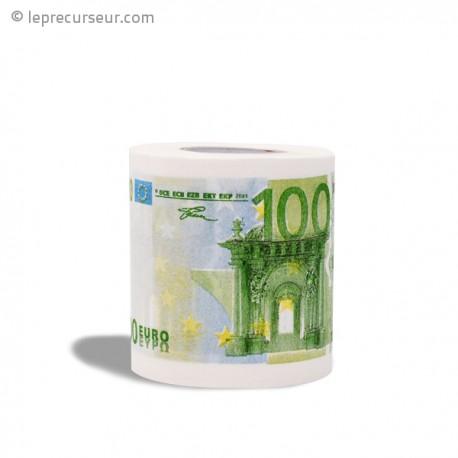 Papier toilettes 100 euros
