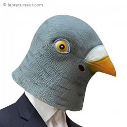 Masque tête de pigeon géante