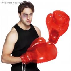 Paire de gants de boxe gonflables