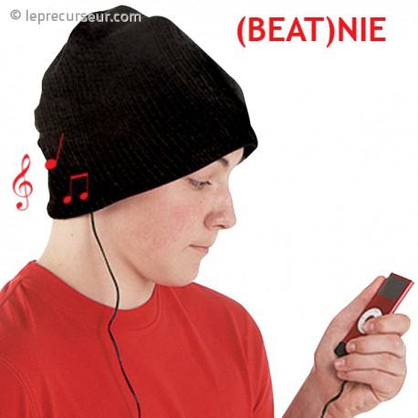 Bonnet avec écouteurs et micro intégrés